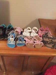 Girls size 7 and 8 sandals