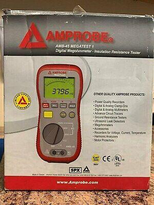 Amprobe Megatest 1 Digital Megohmmemeterinsulation Resistance Tester