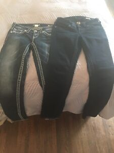 Brand New Silver Jeans!!