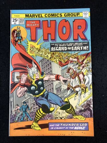 Thor (1966) #233 NM (9.4) Asgaurd Invades Earth