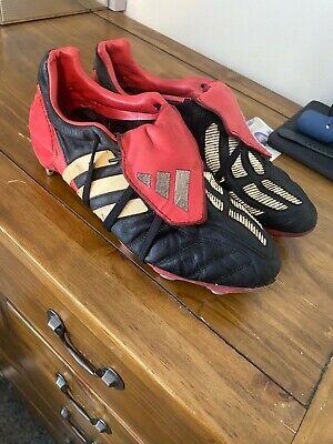 2002 ADIDAS PREDATOR MANIA SOFT GROUND FOOTBALL BOOTS UK 9 ORIGINAL