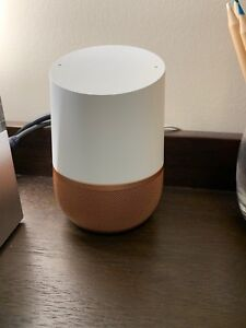 Mint condition Google Home w/ special edition Real copper base