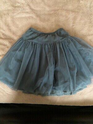 Il Gufo Grey Tulle Skirt 6y