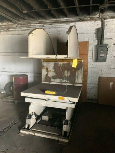 Air Technical Industries Tilt Up-ender/Pallet Inverter, Model: U124872EM,