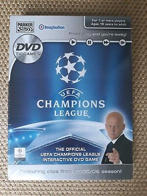UEFA Champions League DVD Game - Hasbro - New - DVD for sale  Chichester