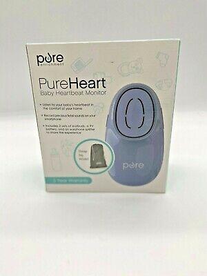 Pureheart Baby Heartbeat Monitor Model Pefetdpl Records To Smartphone