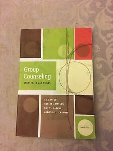 Group counselling: strategies & skills textbook