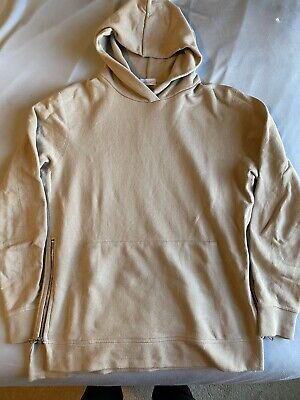 John Elliott Villain Hoodie Medium, Dune Tan