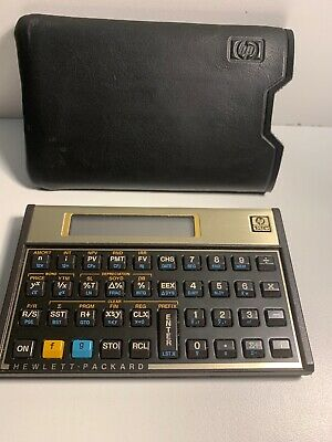 Hewlett Packard Hp-12c Financial Calculator Hp12c Clean
