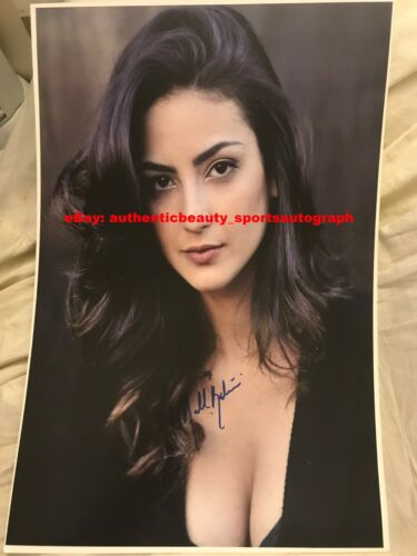 MEDALION RAHIMI BEFORE I FALL STILL STAR-CROSSED XOXO SEXY SIGNED 12x18 REPRINT