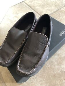 Leather Kenneth Cole Boys Loafer Size 4