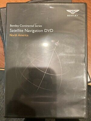 2011 12 13 14 2015 Bentley Continental GT NAVIGATION DVD T1000-20105 VERSION 3.1