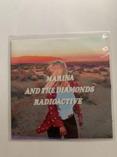 Marina And The Diamonds Radioactive Promo Cd Single 6 Track Remixes Marina  - $17.30