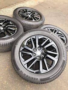 "19"" Genuine LDV Wheels with 255/55R19 Continental Contisport"