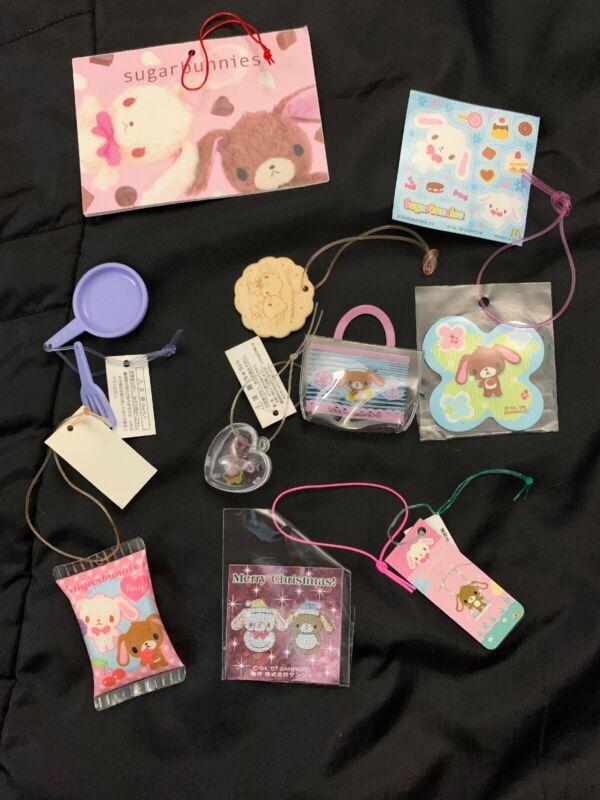 Sanrio Trinkets Lot Sugarbunnies 10pcs  Plush Hello Kitty #4