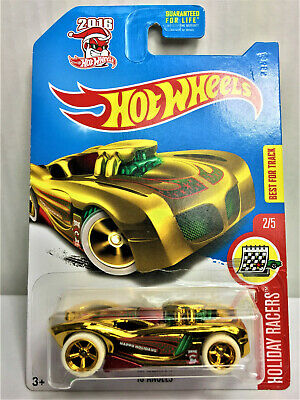 Hot Wheels 2017 Super Treasure Hunt 16 Angels Great Card in Protector Read