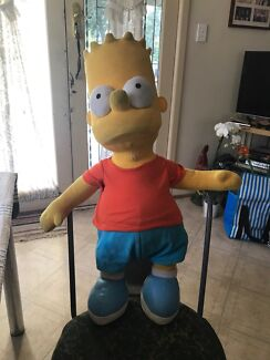 """BART SIMPSON"" LARGE PLUSH TOY. Cranbourne Casey Area Preview"