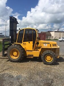Sellick 10000# capacity forklift