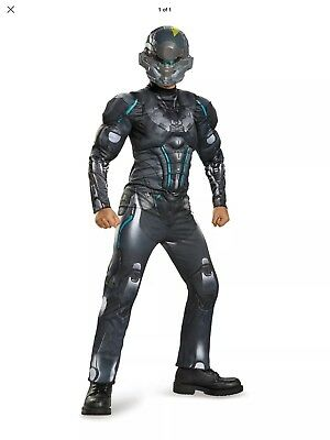 Microsoft Halo Spartan Locke Classic Muscle Child Halloween Costume - Size Small
