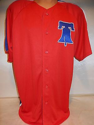 Bell Baseball Jersey (9601-101 Mens Majestic PHILADELPHIA PHILLIES