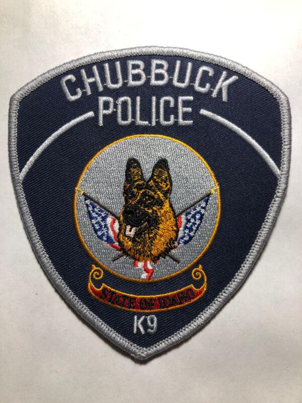Chubbuck Idaho Police K9 Patch