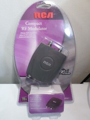 RCA CRF907 Compact RF Modulator  Audio/Video Digital Converter