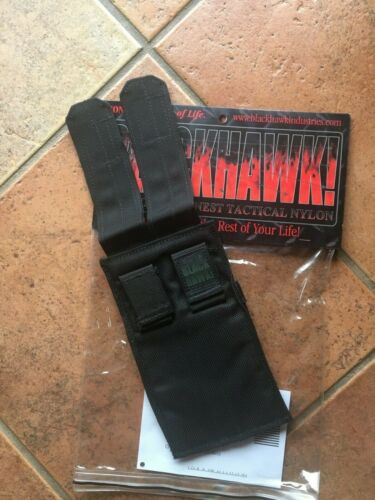Blackhawk USA made vintage SMG magazine Pouch black NEW