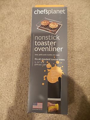 Toaster Oven Liner - NEW Chefs Planet Dark Grey Material non