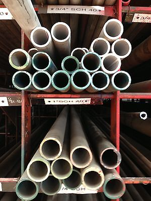 1 Sch 40 304 Stainless Steel Pipe 6 Pc