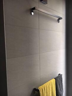 Grey porcelain tiles (600 x 300 x 10mm thick) x 10