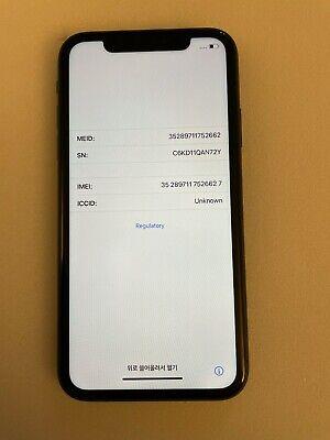 EXCELLENT Apple iPhone 11 - 256GB - Black (Unlocked) A2111 (CDMA   GSM)