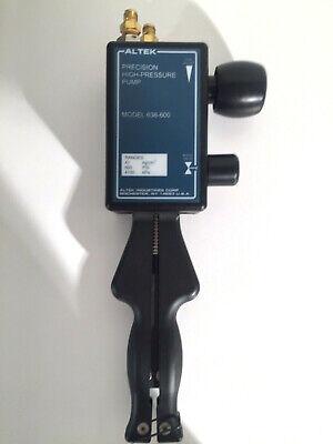 Altek Precision High Pressure Pump Model 638-600 Brand New