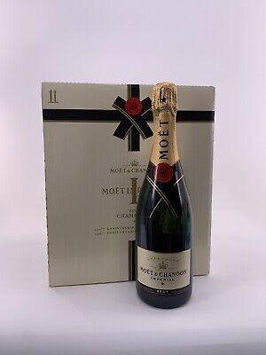 6x Moët & Chandon Brut Impérial Champagner Flasche 0,75l 12% Vol. Kiste