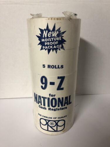 VINTAGE NCR NATIONAL CASH REGISTER TAPE 9Z RECEIPT PAPER ROL