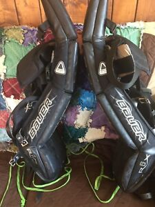 Bauer RX6 30+1 Goalie Pads in excellent condition