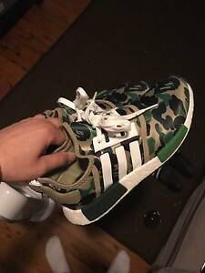 Adidas-x-Bape-NMD SIZE  10 Perth Perth City Area Preview