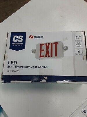 Lithonia Lighting Led Emergency Light Exitunit