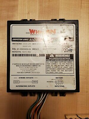 Whelen Competitor Series Cs450 Strobe Power Supply Tested Guaranteed