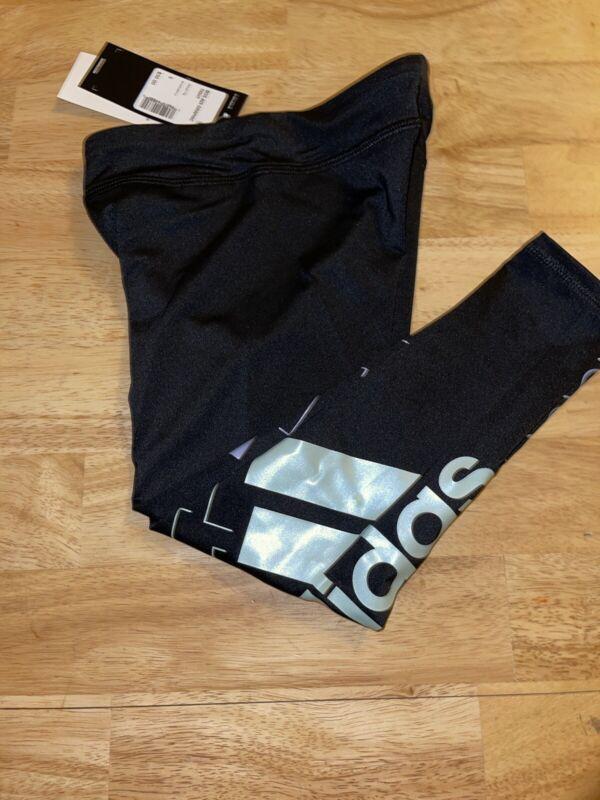 SIZE 3T Girls adidas® Bos Adi Graphic Leggings BNWTS
