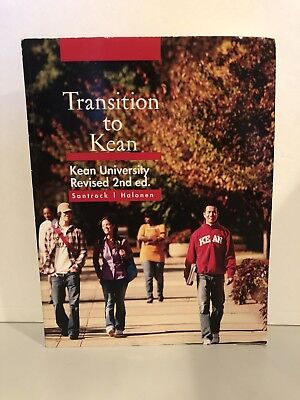 Transition To Kean Textbook Kean University Revised 2Nd Edition Santrock Halonen
