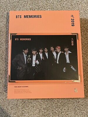 BTS Official Memories of 2019 DVD (NO PC)