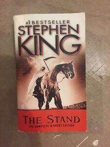 The Stand soft cover by Stephen King