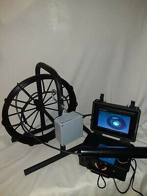 Sewer Drain Cleaner Video Inspection Camera 34 Micro Camera 50 Feet