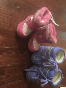 Snow boots size4/5