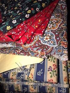 MATERIAL - large lot suitable for patchwork/craft Doncaster Manningham Area Preview