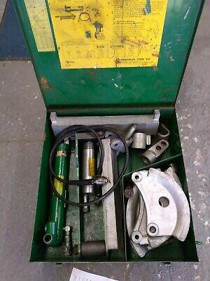 Hydraulic Emt Conduit Bender Greenlee Model 882