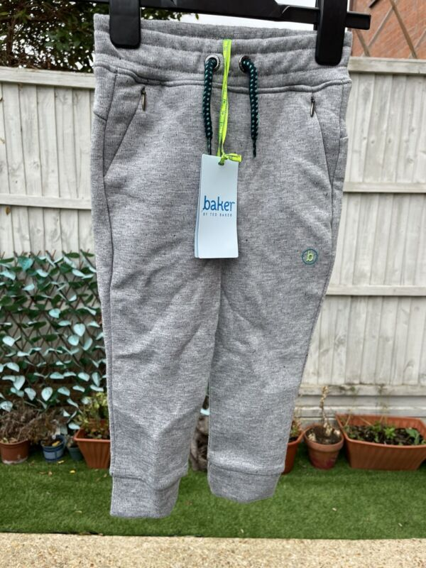 BNWT TED BAKER Boys Grey Joggers Age 18-24 Months
