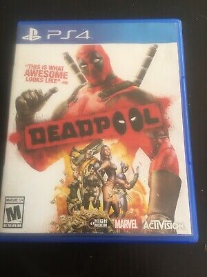 Playstation 4 PS4 Activision DeadPool 2015 Fast Shipping