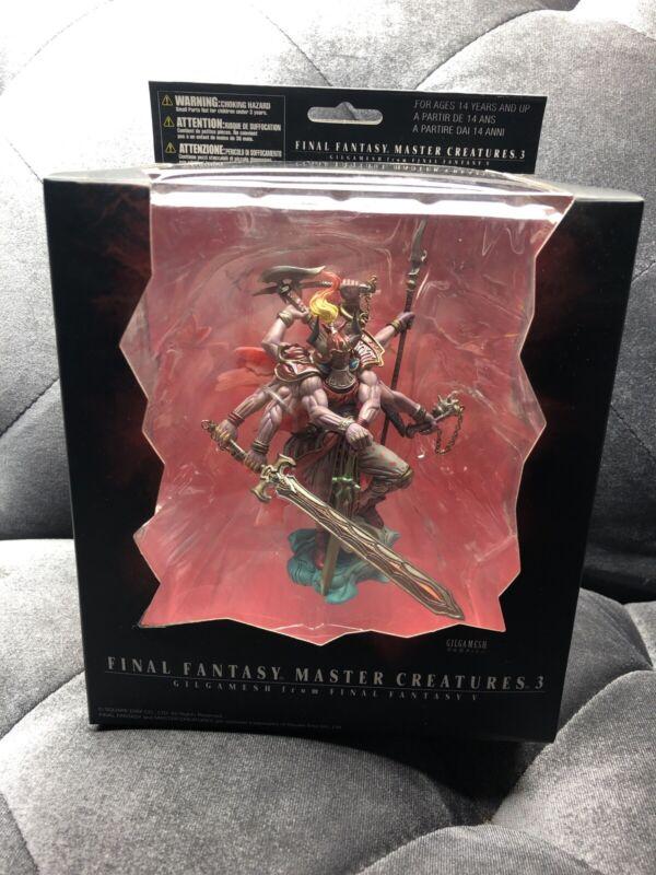 Square Enix Final Fantasy Master Creatures 3 Gilgamesh Figure NEW
