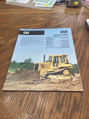 Cat Caterpillar D5h Bulldozer Brochure